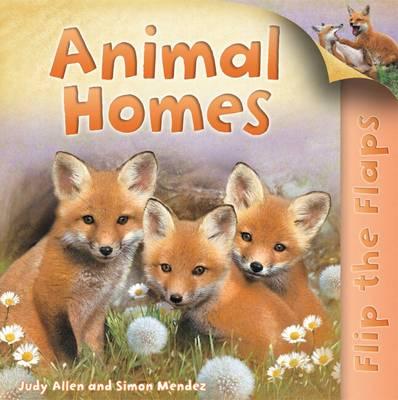 Flip the Flaps: Animal Homes - Flip the Flap (Paperback)