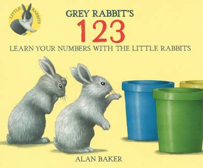 Grey Rabbit's 123 - Little Rabbits (Paperback)