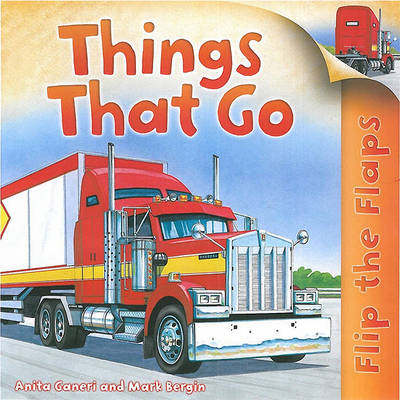 Things That Go - Flip the Flaps (Hardback)