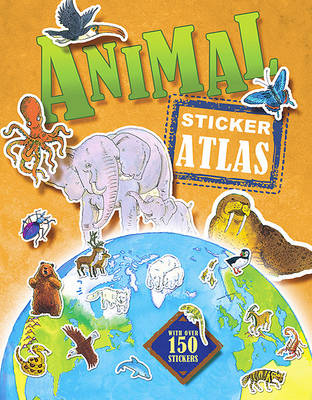 Animal Sticker Atlas (Paperback)