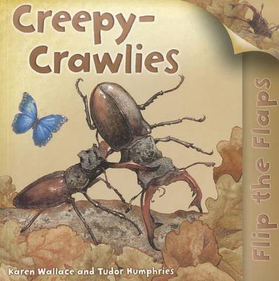Creepy-Crawlies - Flip the Flaps (Paperback)