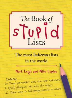 The Book of Stupid Lists (Paperback)