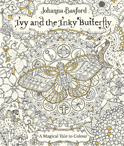 Colouring Book Paperback Ivy And The Inky Butterfly