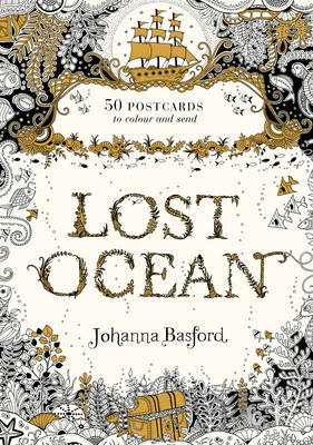 Lost Ocean Postcard Edition: 50 Postcards to Colour and Send (Hardback)