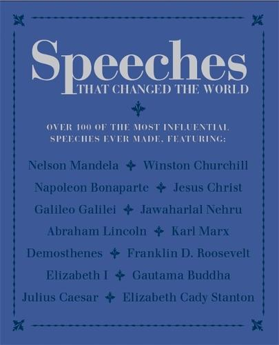 Speeches that Changed the World (Paperback)