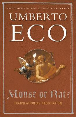 Mouse or Rat?: Translation as Negotiation (Paperback)
