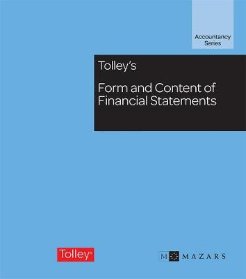 Tolley's Form and Content of Financial Statements