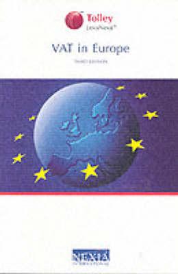 VAT in Europe (Paperback)