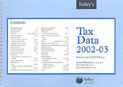 Tolley's Tax Data 2002-03 (Spiral bound)
