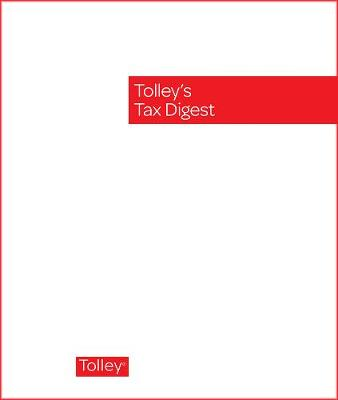 Tolley's Tax Digest
