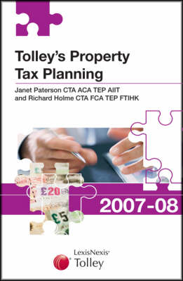 Tolley's Property Tax Planning 2007-08 - New Tolley's Tax Planning (Paperback)
