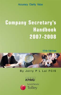 Tolley's Company Secretary's Handbook (Paperback)