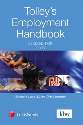 Tolley's Employment Handbook (Paperback)