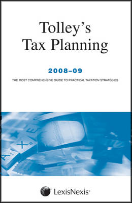 Tolley's Tax Planning 2008-09 (Paperback)