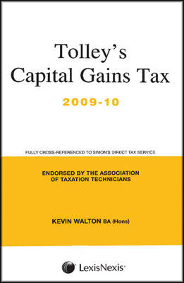 Tolley's Capital Gains Tax: Main Annual (Paperback)