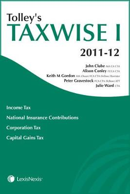 Tolley's Taxwise I 2011-12 (Paperback)