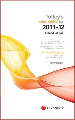 Tolley's Value Added Tax 2011: (Second edition only) (Paperback)