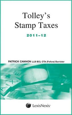 Tolley's Stamp Taxes 2011-12 (Paperback)