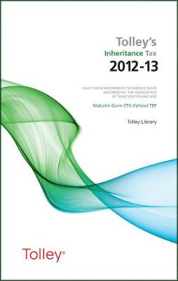 Tolley's Inheritance Tax 2012-13 (Paperback)