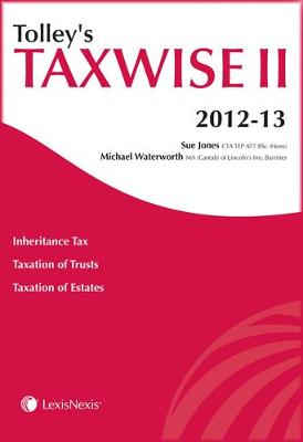 Tolley's Taxwise II 2012-13 (Paperback)