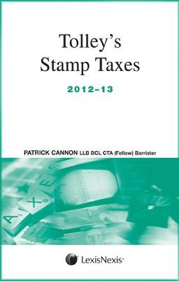 Tolley's Stamp Taxes 2012-13 (Paperback)