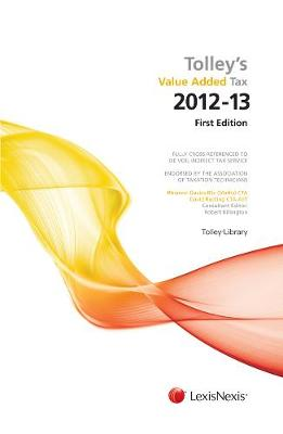 Tolley's Value Added Tax 2012: (includes First and Second editions) (Paperback)