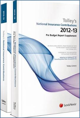 Tolley's National Insurance Contributions 2012-13: (Main Annual plus Supplement) (Paperback)