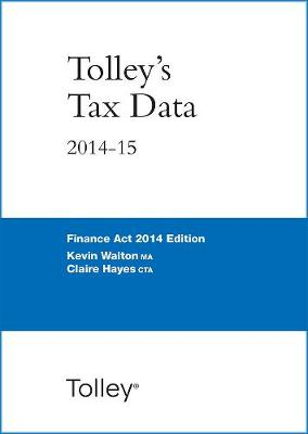 Tolley's Tax Data 2014-15 (Finance Act edition) (Spiral bound)