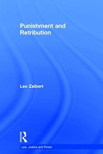 Punishment and Retribution (Hardback)