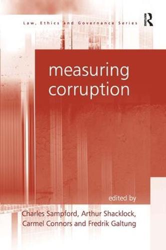 Measuring Corruption (Hardback)