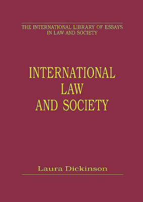 International Law and Society: Empirical Approaches to Human Rights - International Library of Essays in Law and Society (Hardback)