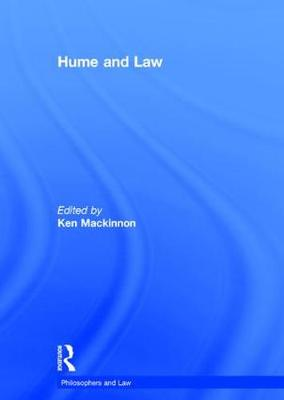 Hume and Law - Philosophers and Law (Hardback)