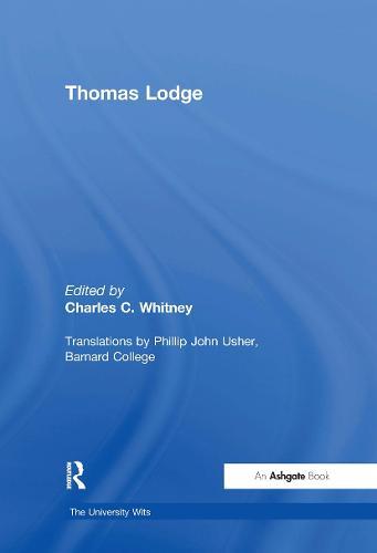 Thomas Lodge - The University Wits (Hardback)