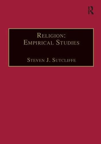 Religion: Empirical Studies (Hardback)