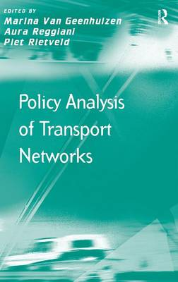 Policy Analysis of Transport Networks (Hardback)