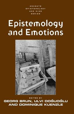 Epistemology and Emotions (Hardback)
