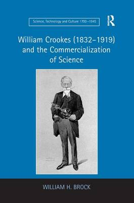 William Crookes (1832-1919) and the Commercialization of Science - Science, Technology and Culture, 1700-1945 (Hardback)