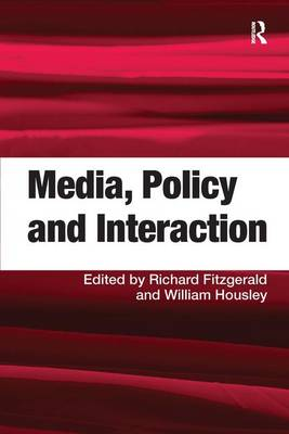 Media, Policy and Interaction (Hardback)