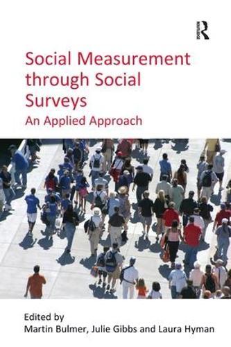 Social Measurement through Social Surveys: An Applied Approach (Paperback)