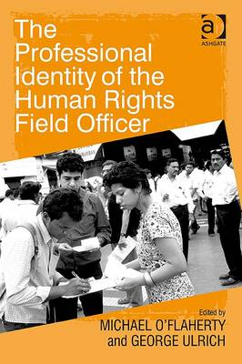 The Professional Identity of the Human Rights Field Officer (Paperback)