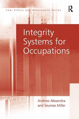 Integrity Systems for Occupations (Hardback)