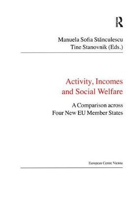 Activity, Incomes and Social Welfare: A Comparison across Four New EU Member States - Public Policy and Social Welfare (Paperback)