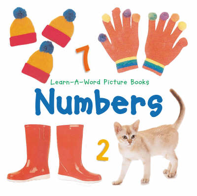 Numbers - Learn-a-Word Picture Board Books (Board book)