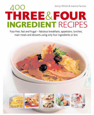 400 Three and Four Ingredient Recipes (Hardback)