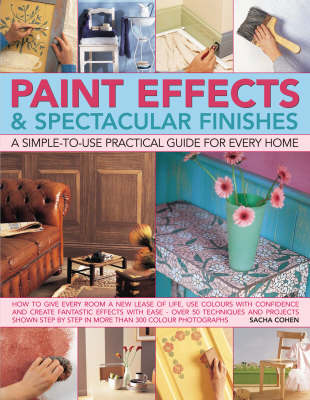 Paint Effects and Spectacular Finishes: A Simple-to-use Practical Guide for Every Home (Paperback)
