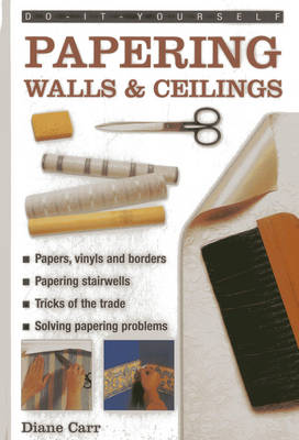 Do-it-yourself Papering Walls & Ceilings: A Practical Guide to All You Need to Know About Papering Techniques Throughout the Home (Hardback)