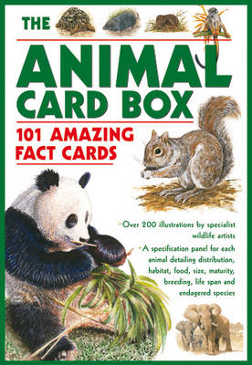 The Animal Card Box: 101 Amazing Fact Cards