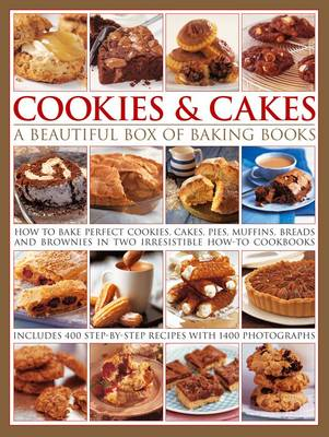 Cookies & Cakes: a Beautiful Box of Baking Books (Hardback)