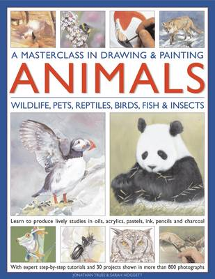 Masterclass in Drawing & Painting Animals (Hardback)