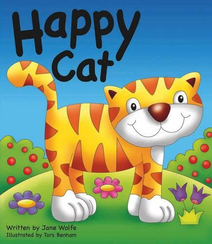 Happy Cat (Board book)